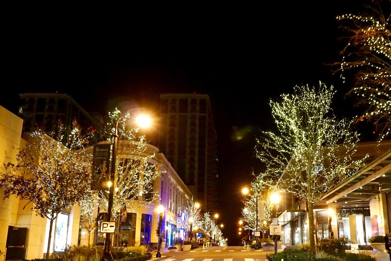 Streets of Buckhead, Atlanta, Georiga