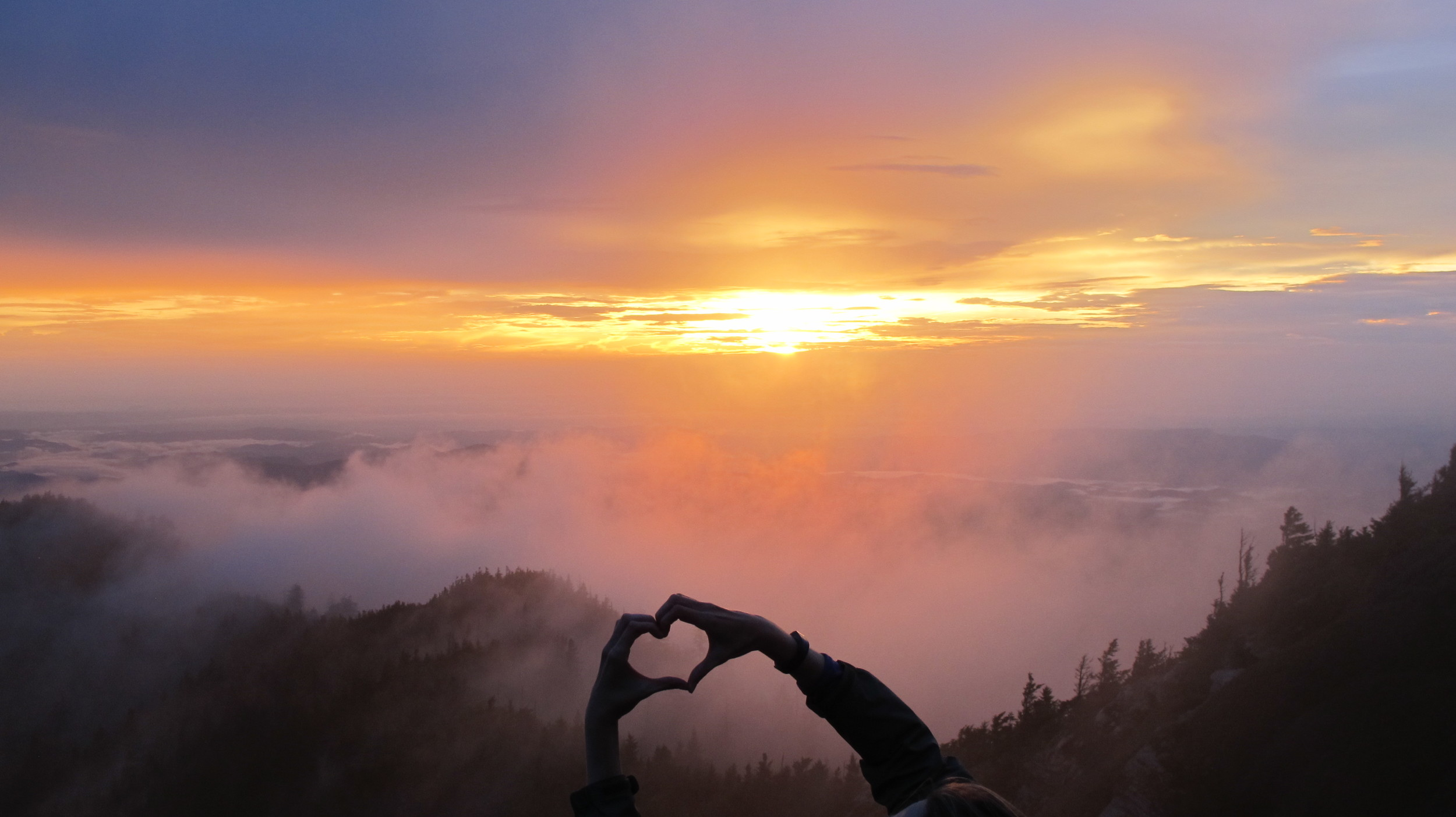 Sunset at Clifftops, Mt. LeConte, Tennessee