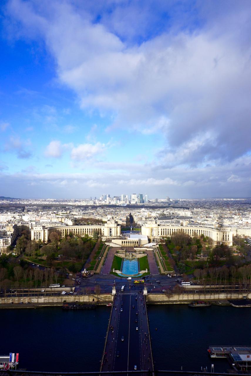 Eiffel Tower view, Paris, France