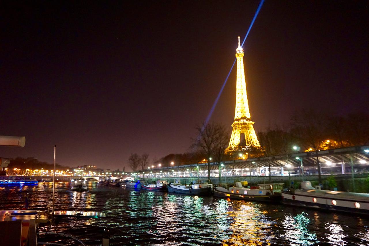 Seine River Cruise, Paris France