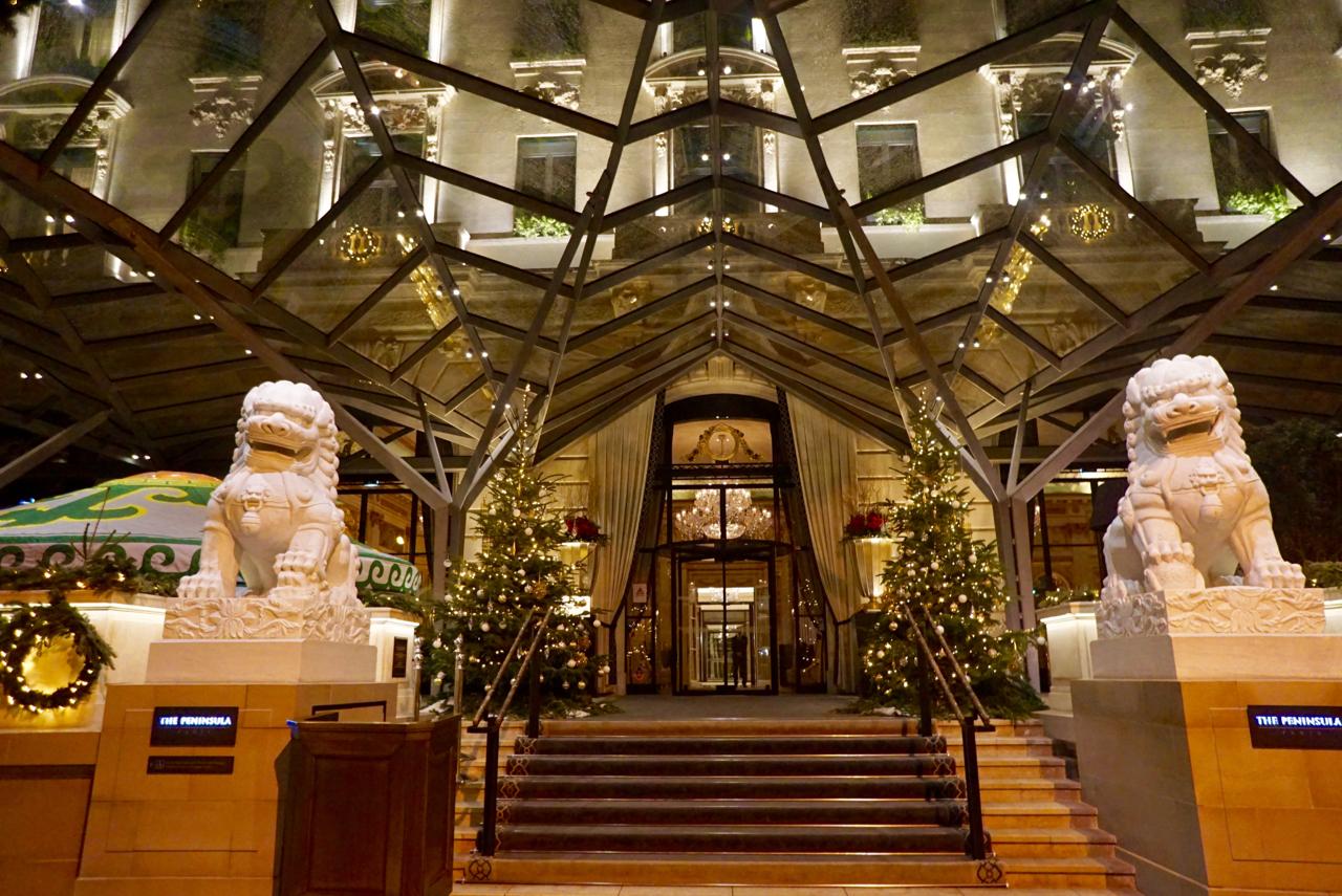 The Peninsula Hotel, Paris France