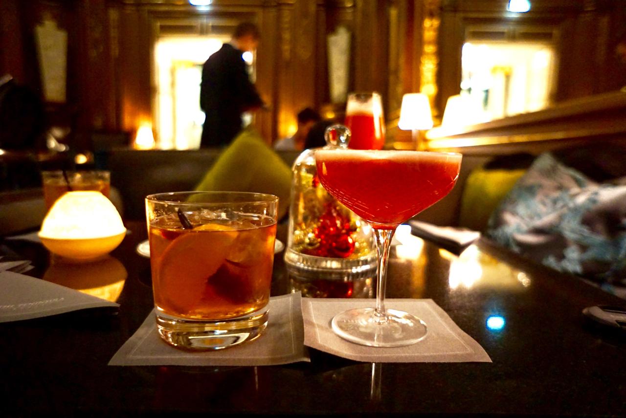 The Peninsula Hotel, Paris France, Bar Kleber