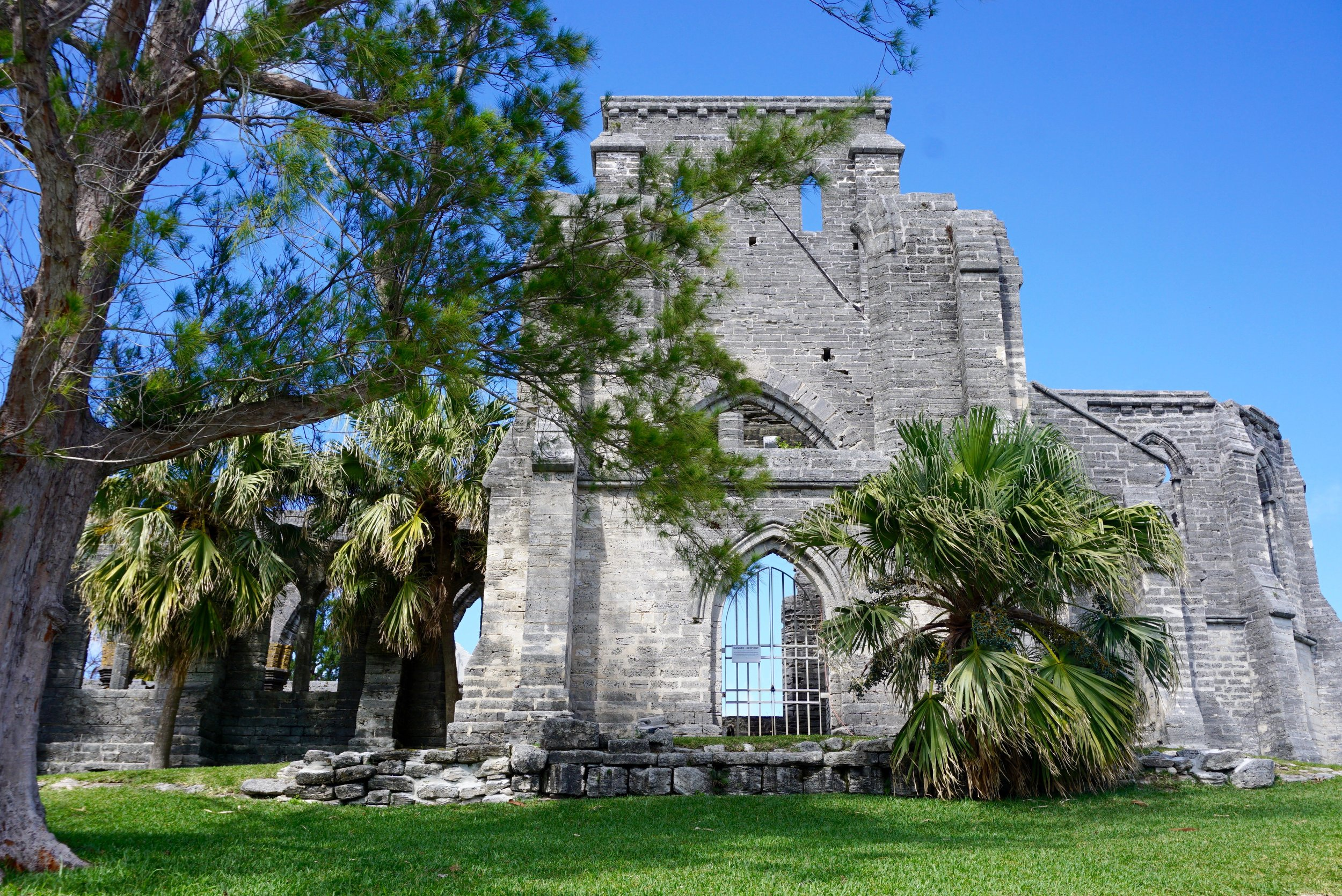 Unfinished Church, St. George's Bermuda