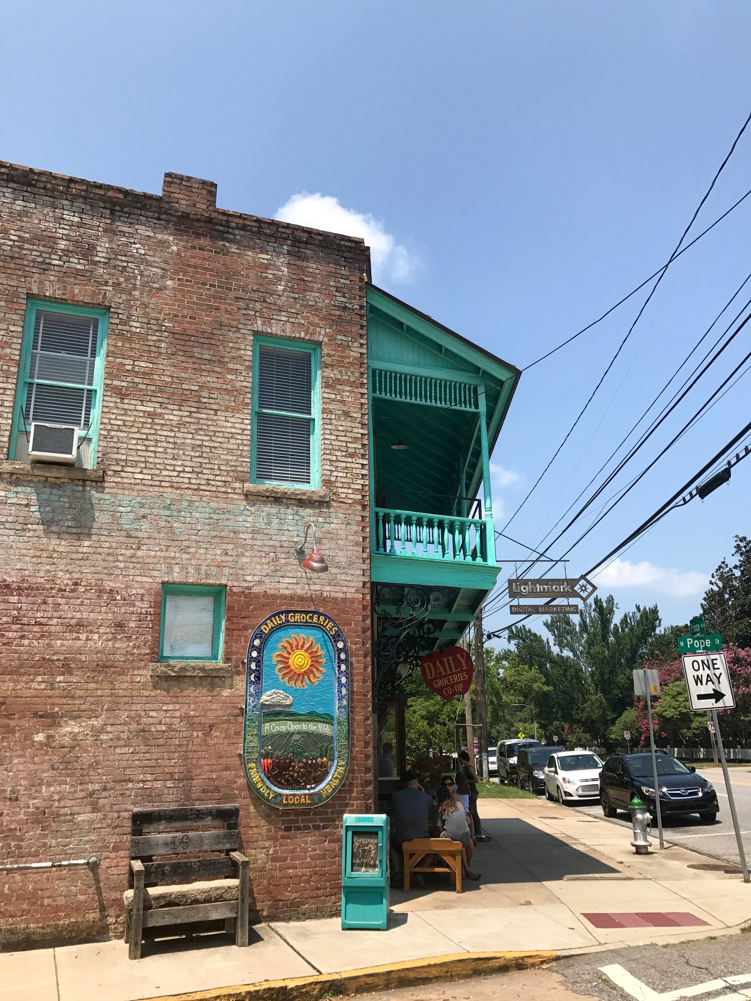 Daily Groceries Co-op, Athens Georgia