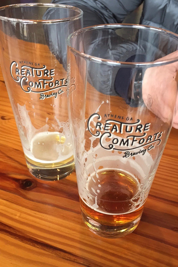 Creature Comforts Brewery, Athens Georgia