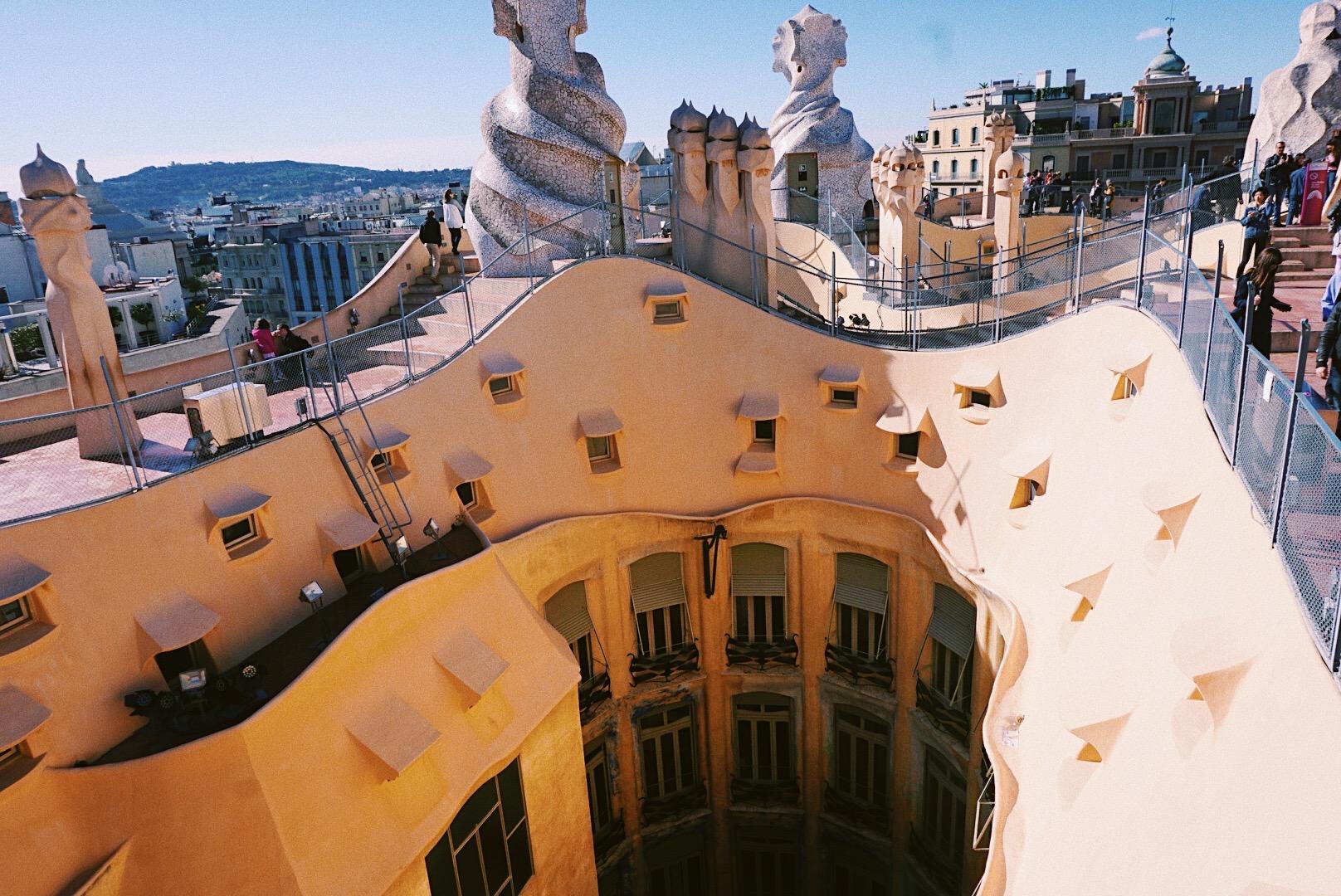 Casa Mila, La Pedrera, Barcelona, Spain