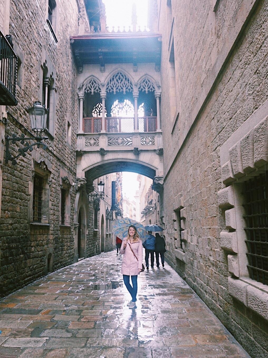 Gothic Quarter, Barcelona, Spain