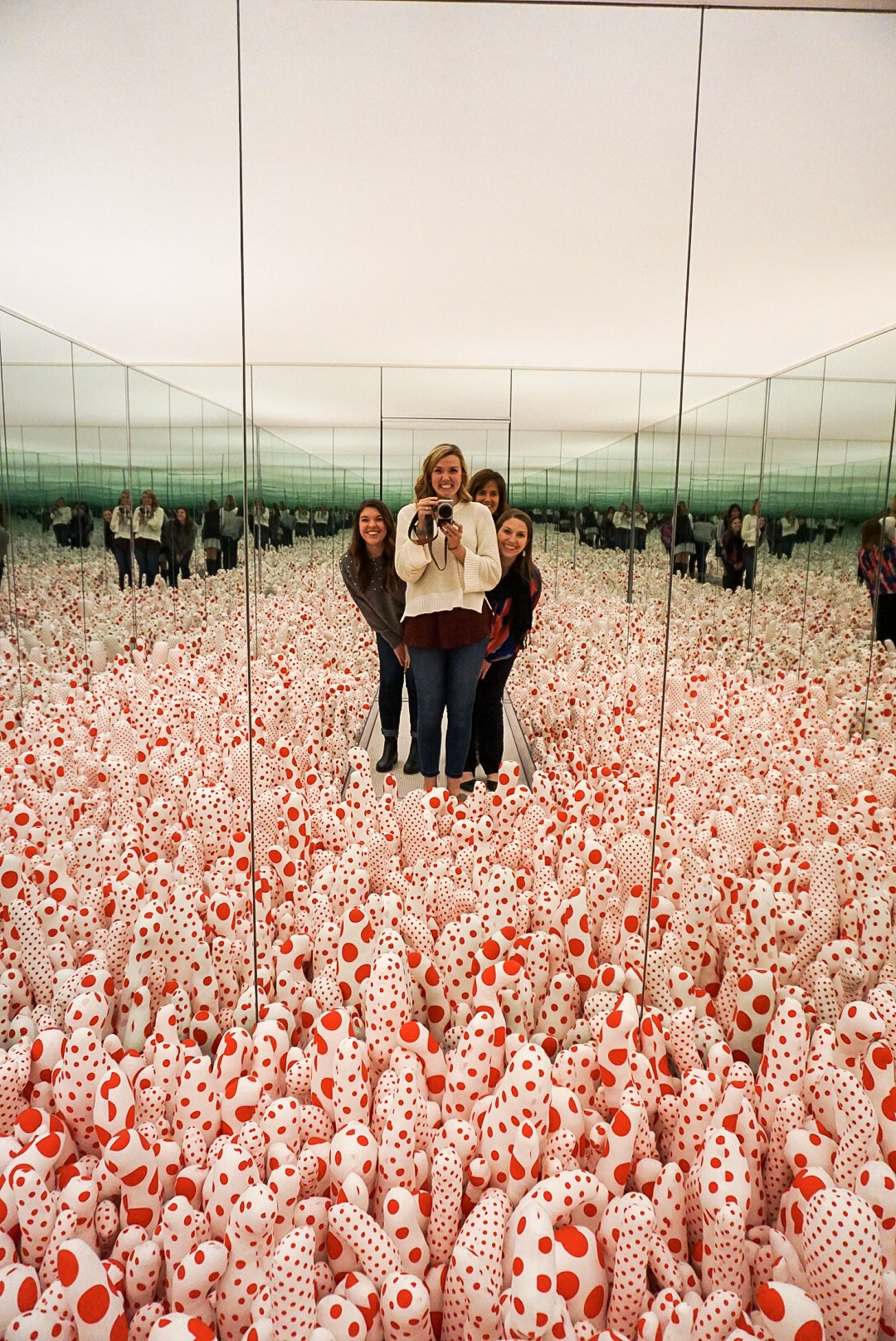 Yayoi Kusama, Infinity Mirror, High Museum of Art, Atlanta