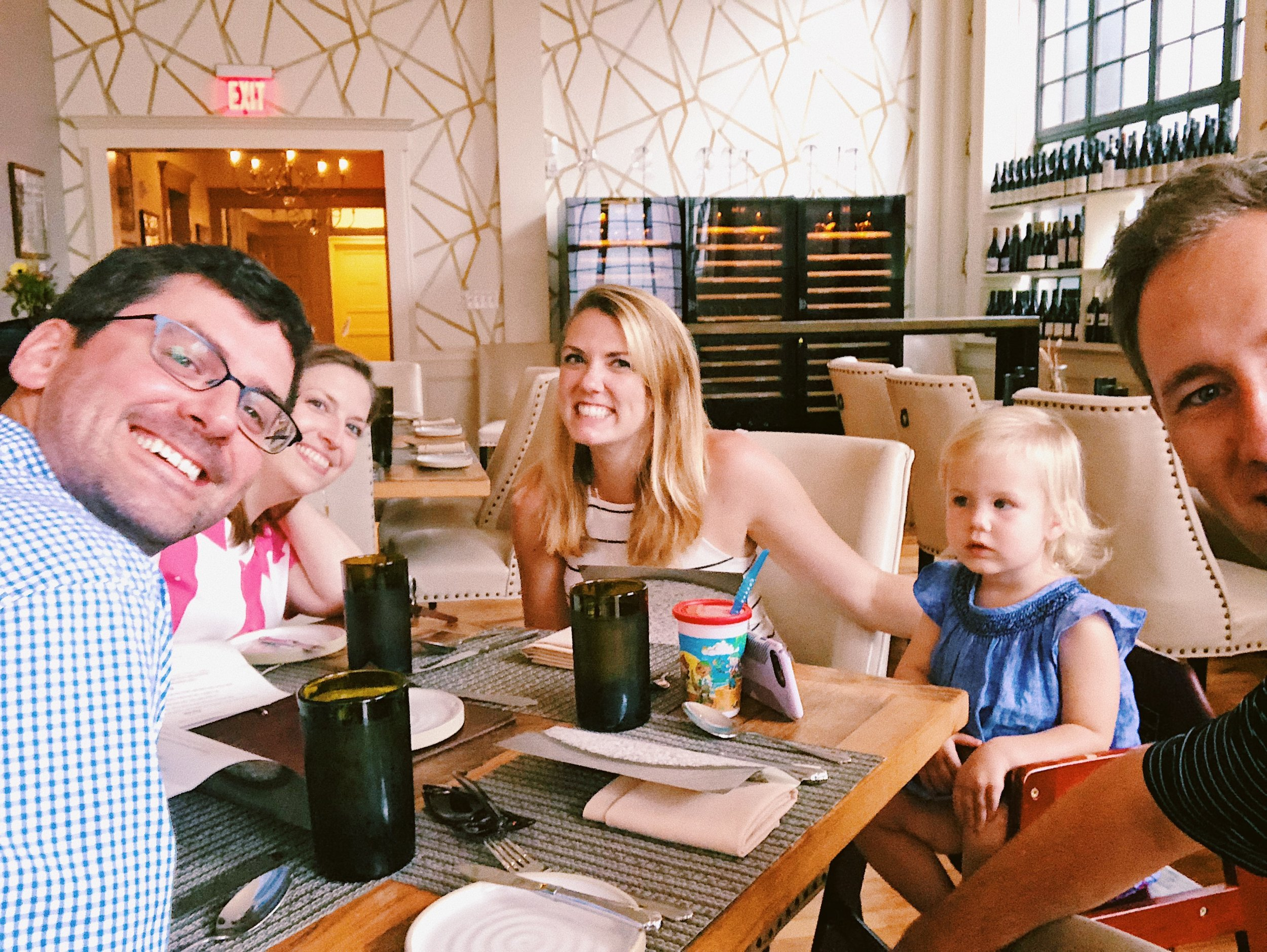 Dinner at Husk, Savannah Georgia