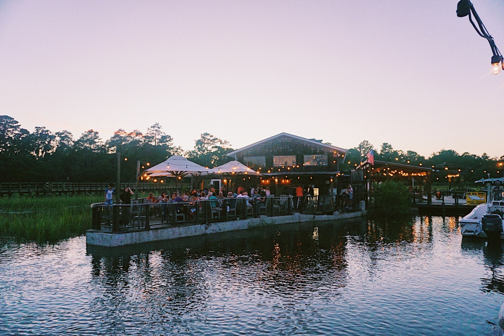 The Wyld Dock Bar, Savannah Georgia