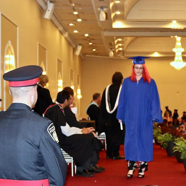 """A busy week of celebrations. Also very proud of my daughter Jordan, graduating grade 12 with an Ontario Scholar designation. Way to go """"Jorgie"""", love you so much."""