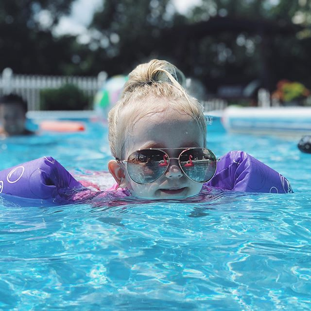 Queen of the pool.