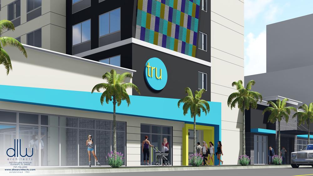 Tru Hotel By Hilton Dania Beach Fl Dlw Architects