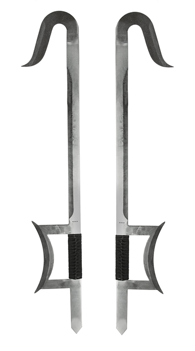Tiger hook swords