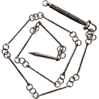 9-segment steel chain whip