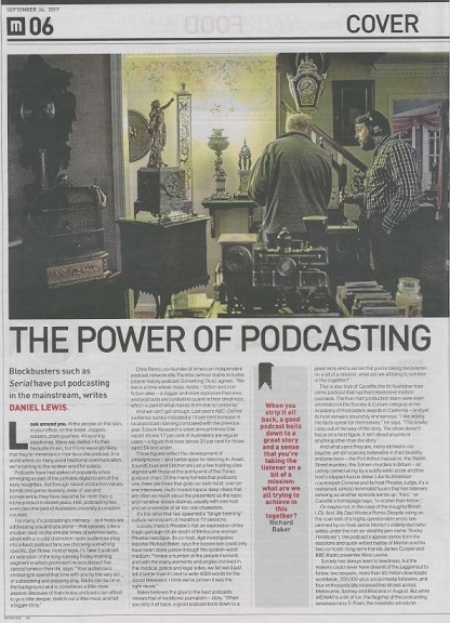The Age - Pod Squad article - Pg1.JPG