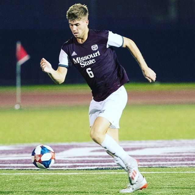 Congrats to Missouri State's Ben Stroud who was named the Missouri Valley Conference Defensive Player of the Week at the start of the month for his performance in the Bears' recent 4-0 win over Western Illinois on Oct 1 in which he scored two goals. Ben became the fifth MSU player to receive weekly MVC honors this season. Ben also scored the lone goal in the Double Overtime 1-0 win against Omaha. The Bears are currently an impressive 11-0 on the season and ranked #20 Nationally in NCAA Division 1.  @ben_stroud