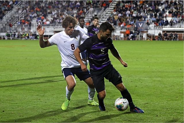 Some nice photos of Virginia University's Joe Bell in action against James Madison University on Tuesday night. The Cavaliers took the 1-0 win to remain unbeaten on the season (11-0-1). They are ranked #1 in the nation in NCAA DI.