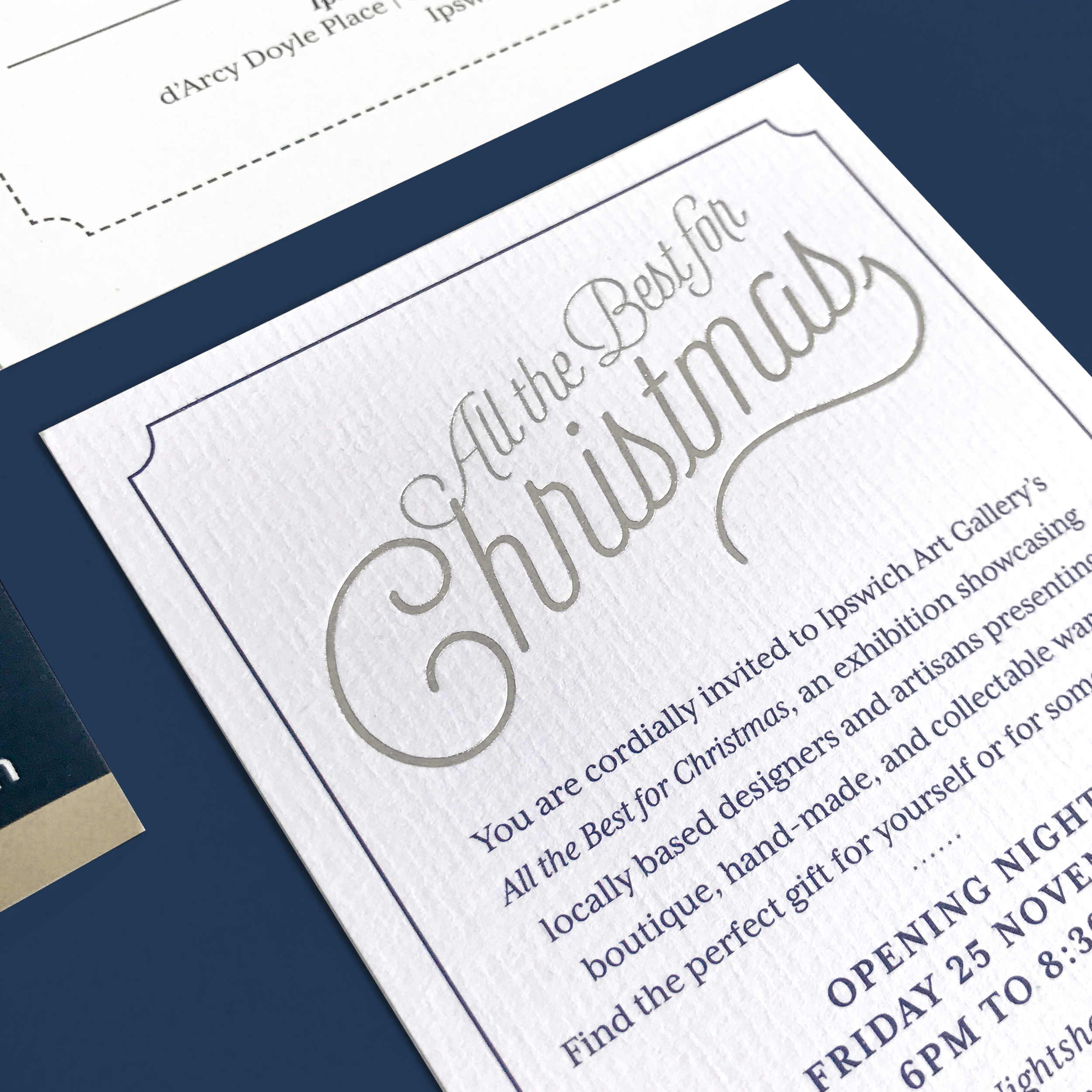 IAG Christmas<strong>Invite Design</strong>
