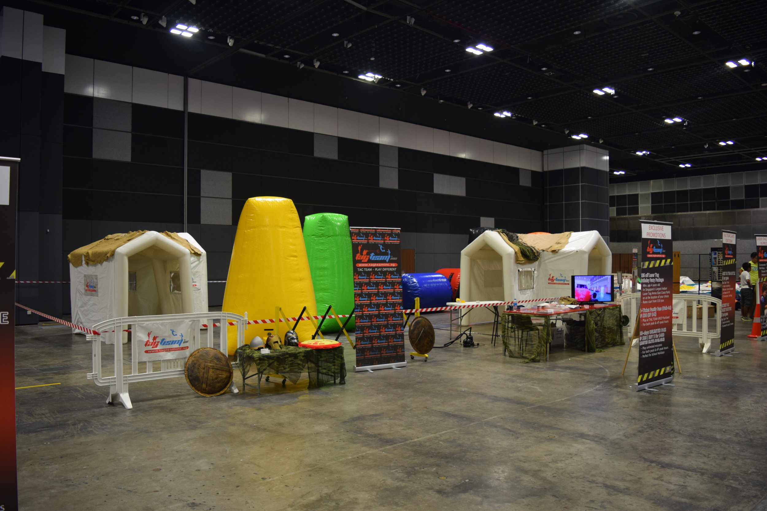 Large Scale Exhibition & Expos -The Kidz Academy Exhibition  Venue: Suntec Convention Hall  Target Audience: Children and Families