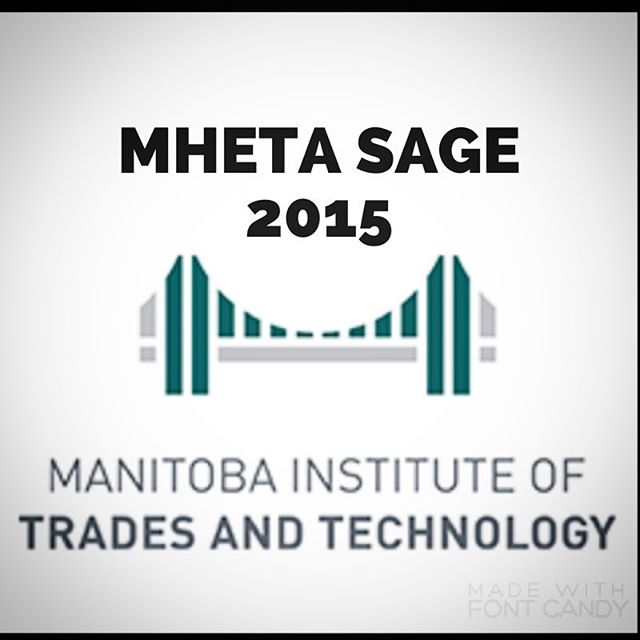 Are you ready for tomorrow?! Remember to bring a copy of the new Middle Years Curriculum and a donation for Winnipeg Harvest! See you tomorrow! #mhetasage2015 #mhetasage #ywg #mitt