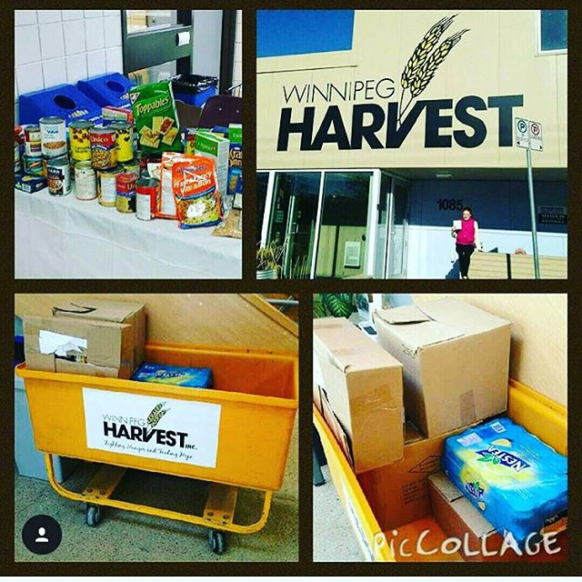 114 lbs of food collected at #mhetasage2015 ! Good job people!
