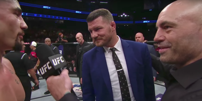No Michael Bisping, Throwing Your Title At Someone Is Pretty Dumb