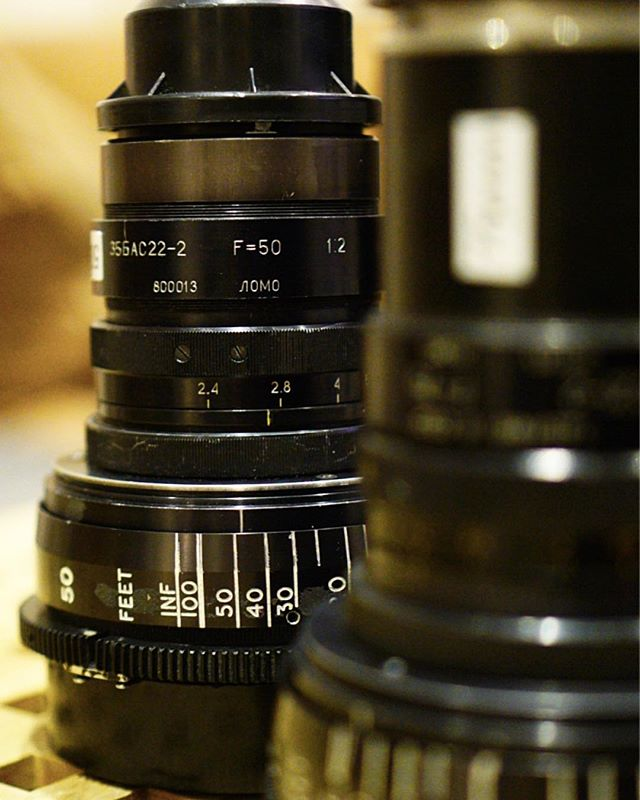 All of the excitement to shoot with this Lomo anamorphic round front lens set this weekend. Amazing looking 1980's vintage Russian anamorphic lenses. Have the 100mm, 75mm, 50mm and the amazingly wide 35mm. These lenses have all the character