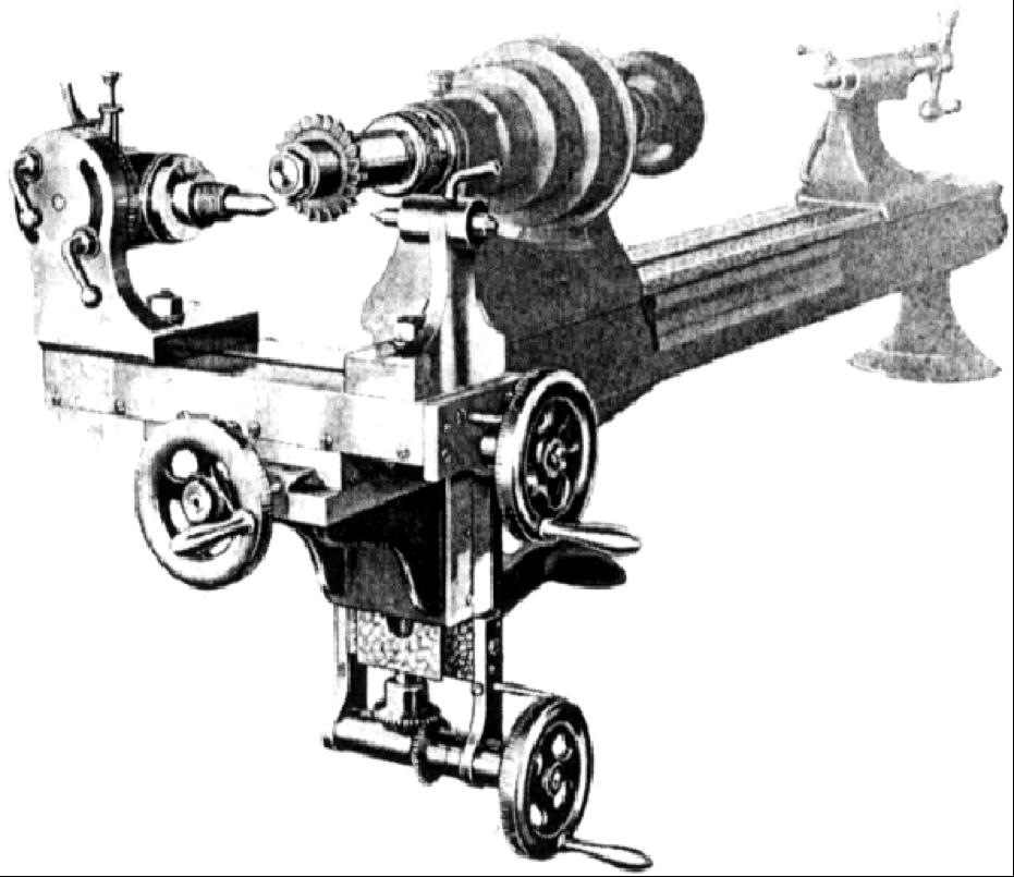 Stark No 4 Precision Bench Lathe — Charles River Museum
