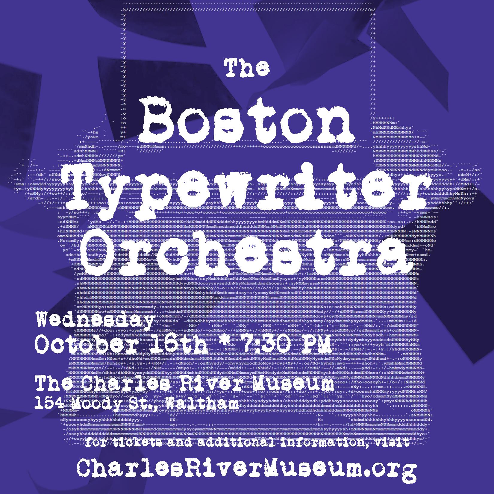 BOSTON TYPEWRITER ORCHESTRA