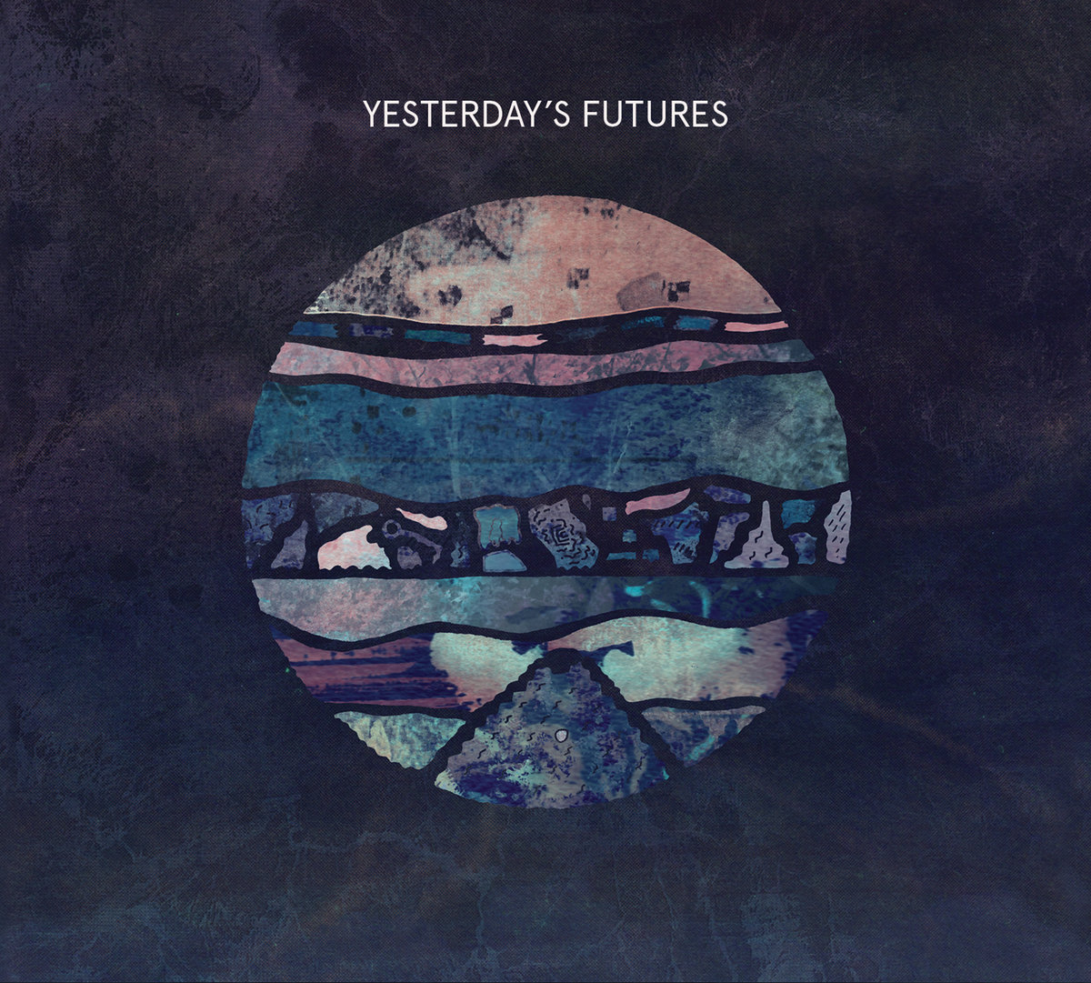 """12"""" Album art for Key & Greenwood Sharps - Yesterday's Futures on High Focus Records."""