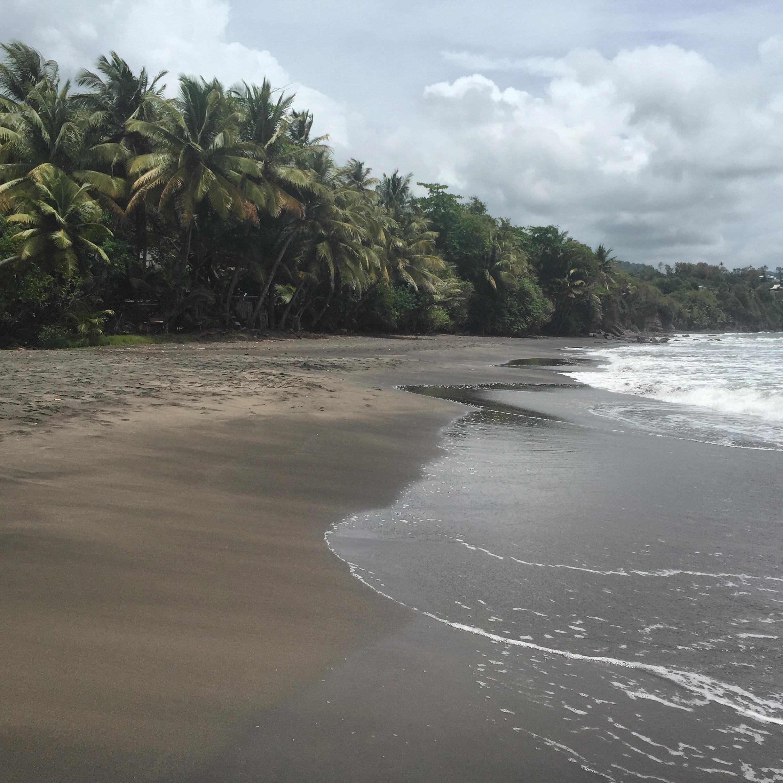 Plage de Grande Anse (Southern Shore), Trois Rivers, Basse Terre, Guadeloupe