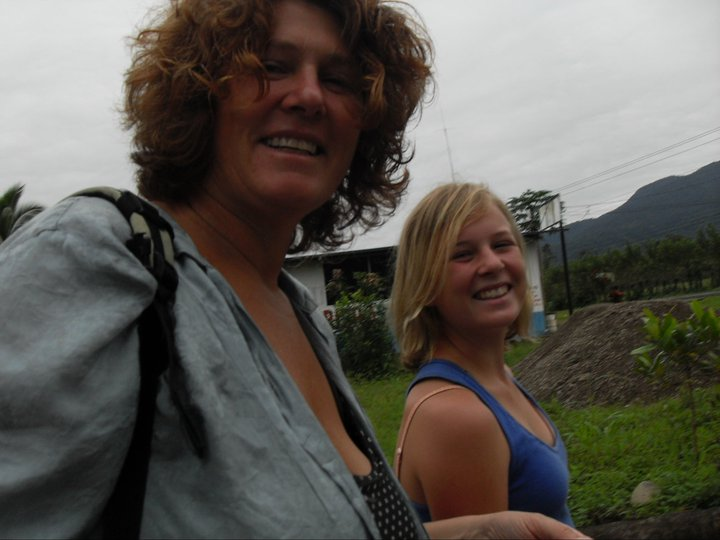Over 50's (and under 20's) - Crossing the Border - Nicaragua to Costa Rica
