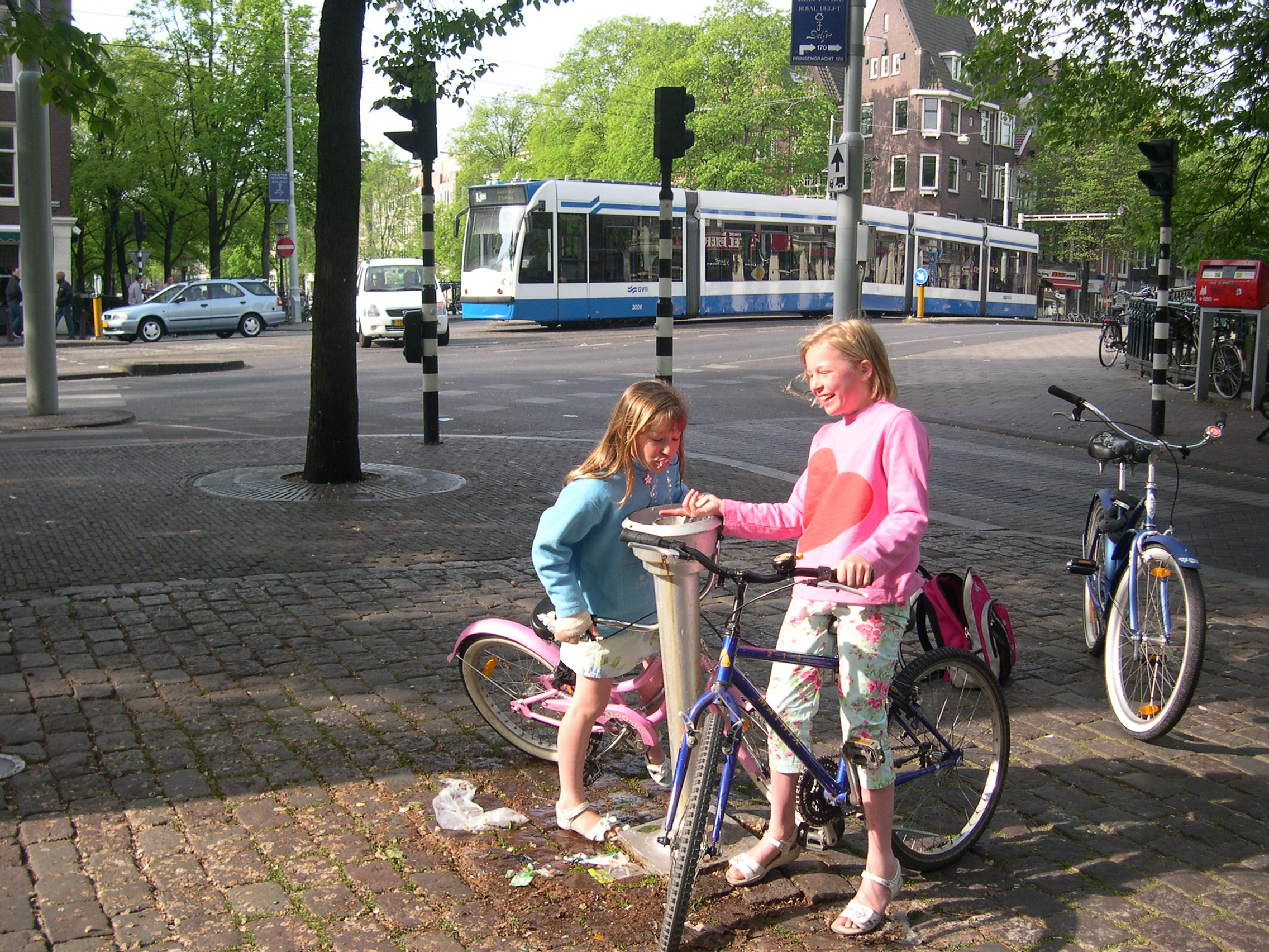 Same two in Amsterdam 2007