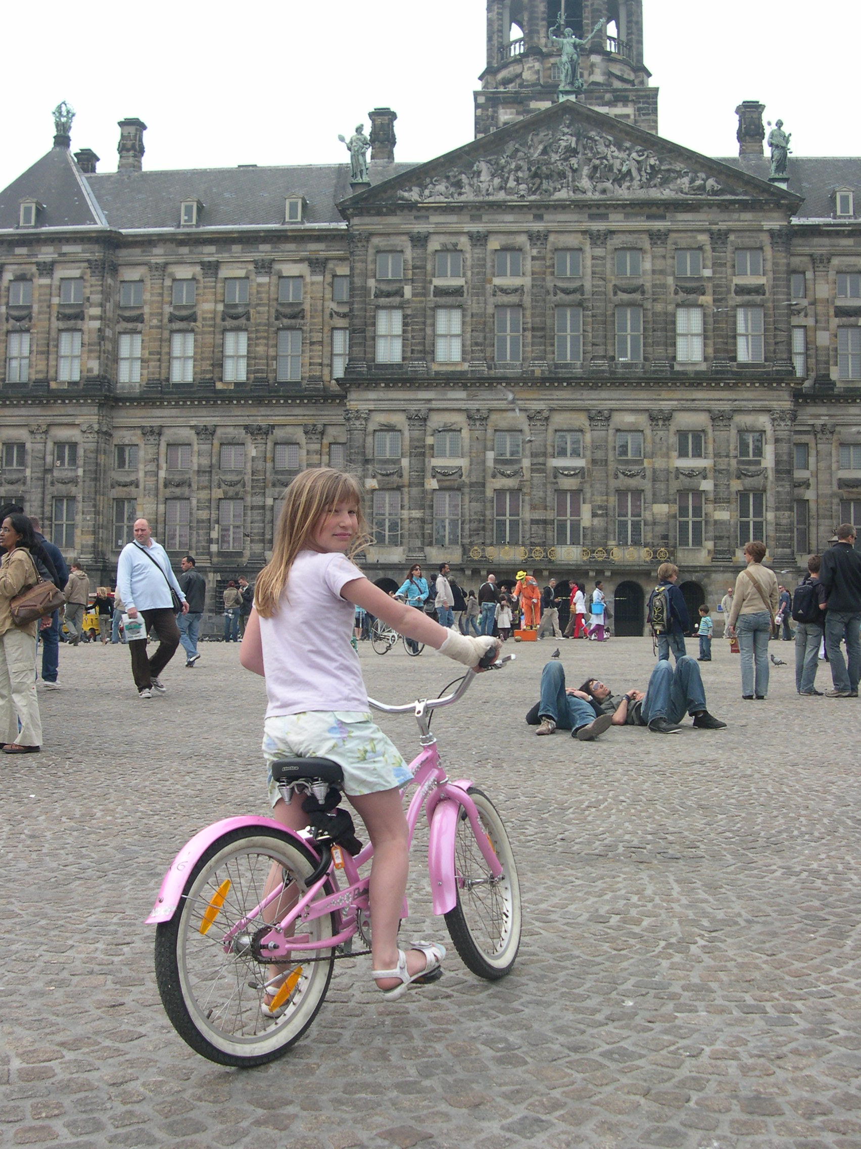 DAM Square - complete with street artist entertainment