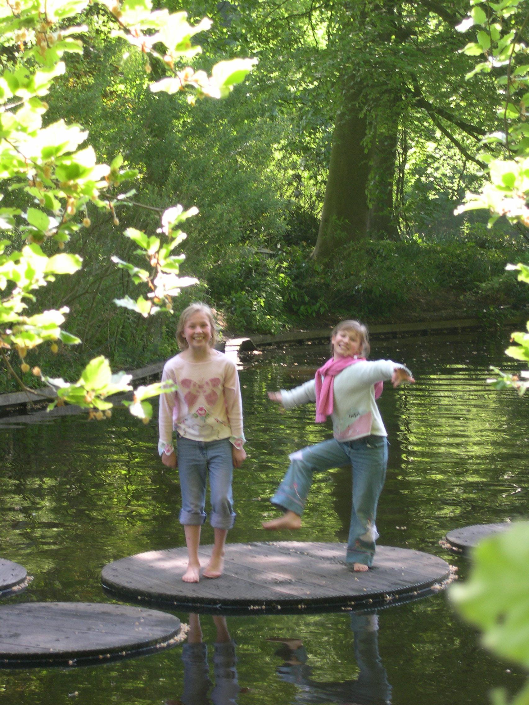 Fun in Keukenhof Gardens, The Netherlands