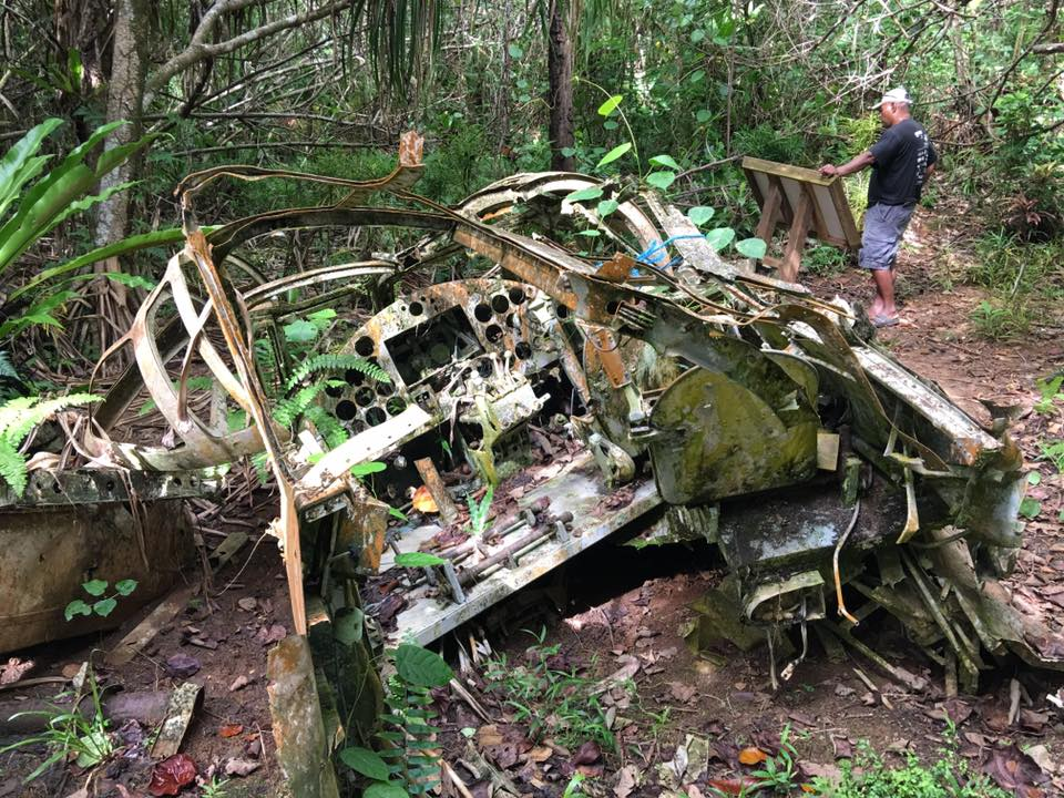 Boeing 727 remnants Yap