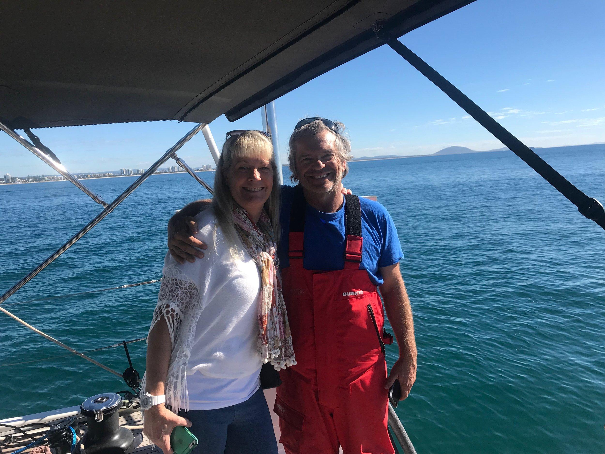MAtt and cassie - our saviour in mooloolaba