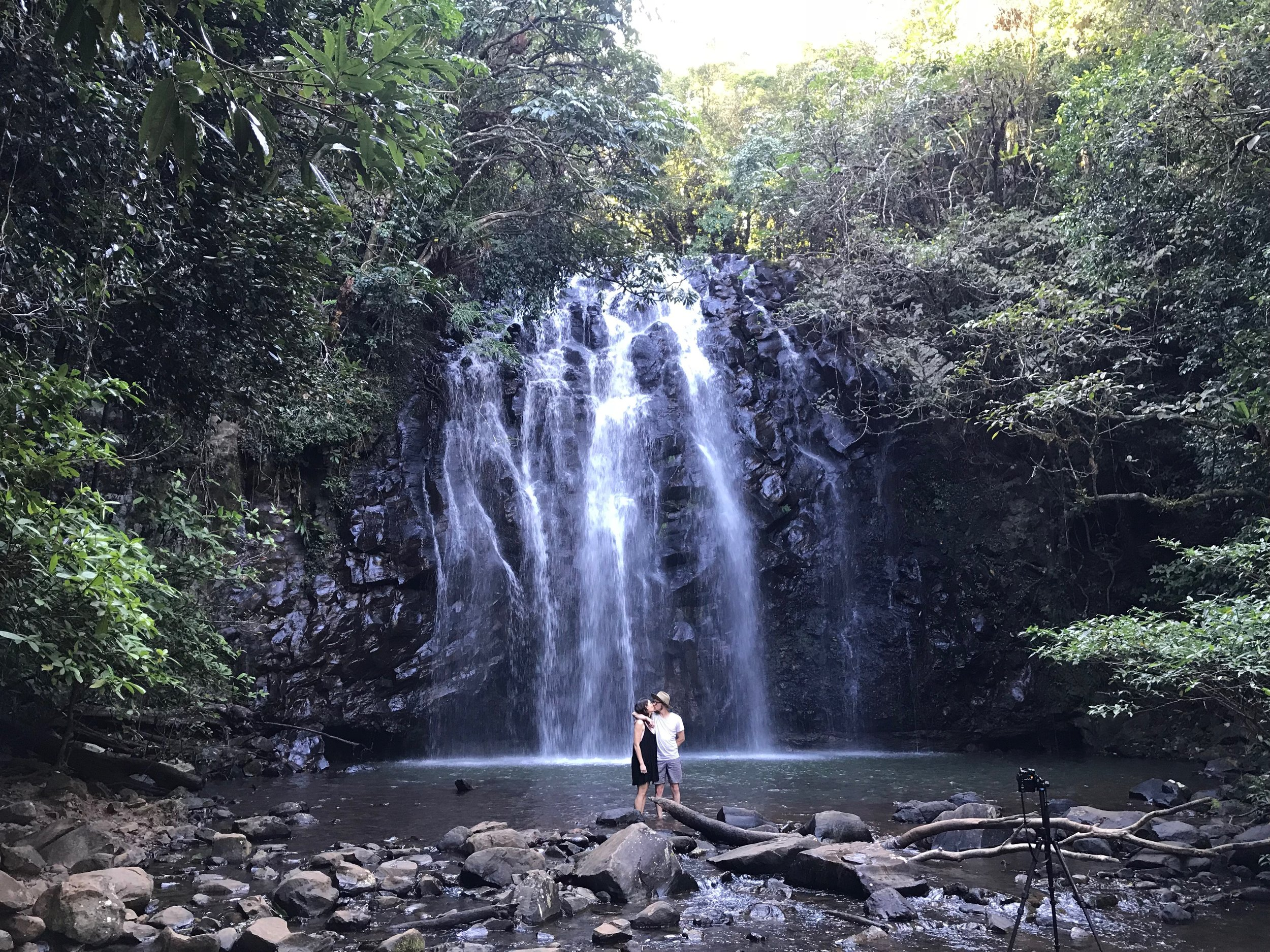 Ellinjaa Falls - Just a touch of romance!