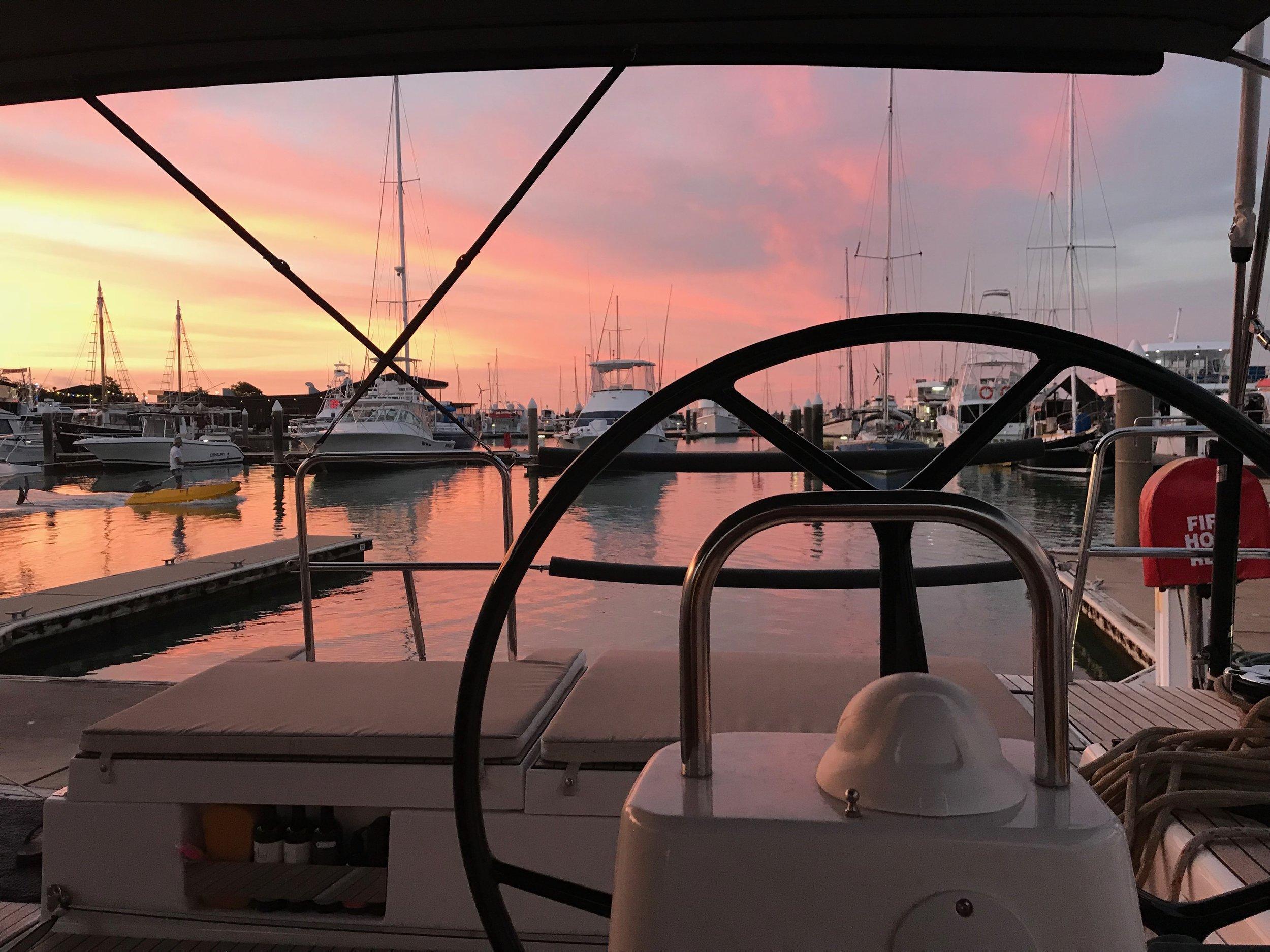 Just your average marina sunset!