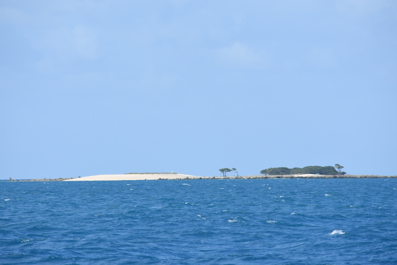 Little reef islands dot the seas all the way to the Cape