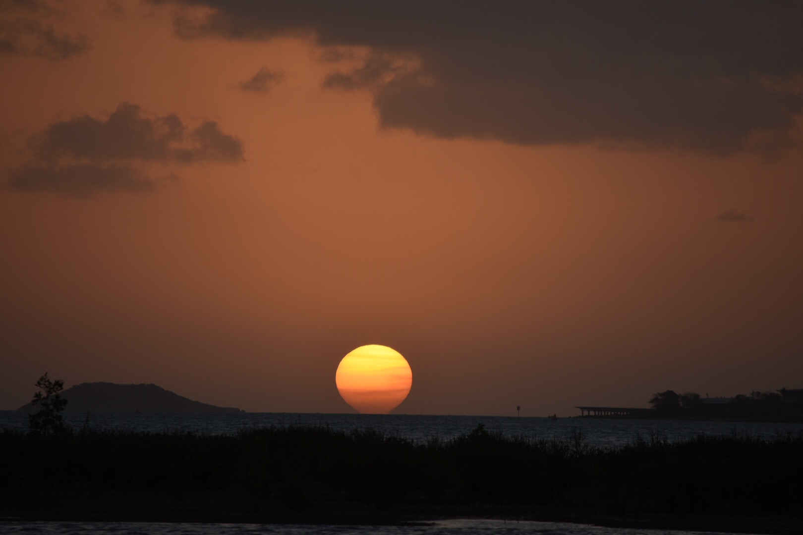 Sunset from Horn island