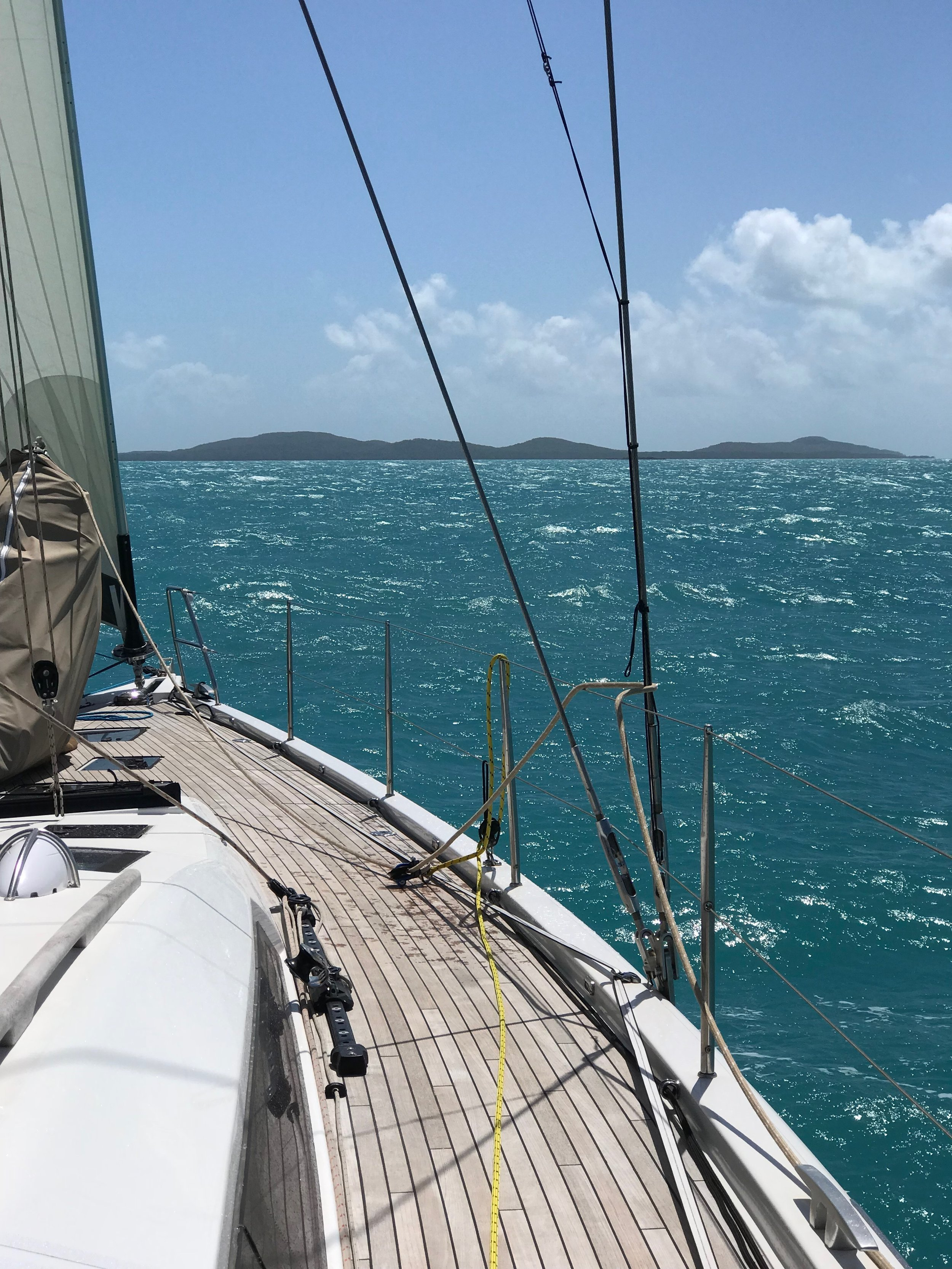 Passing Wednesday Island