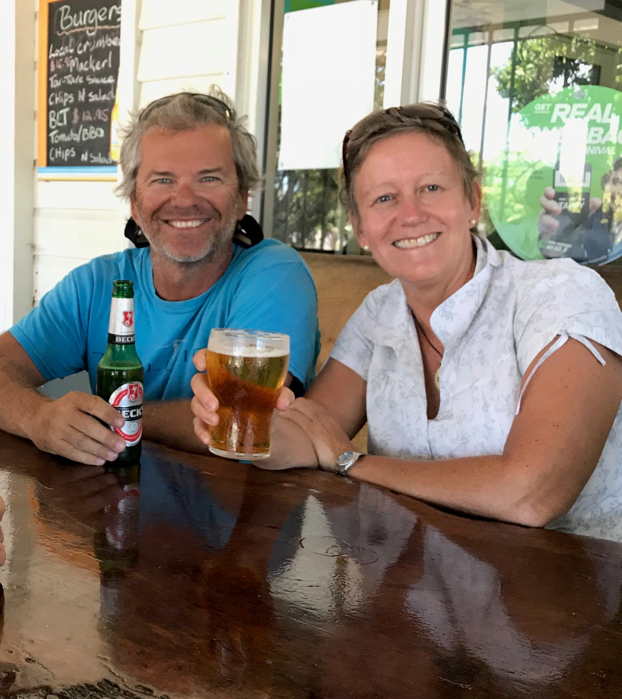 Northern Most pub in Australia - the torres hotel. Cheers!