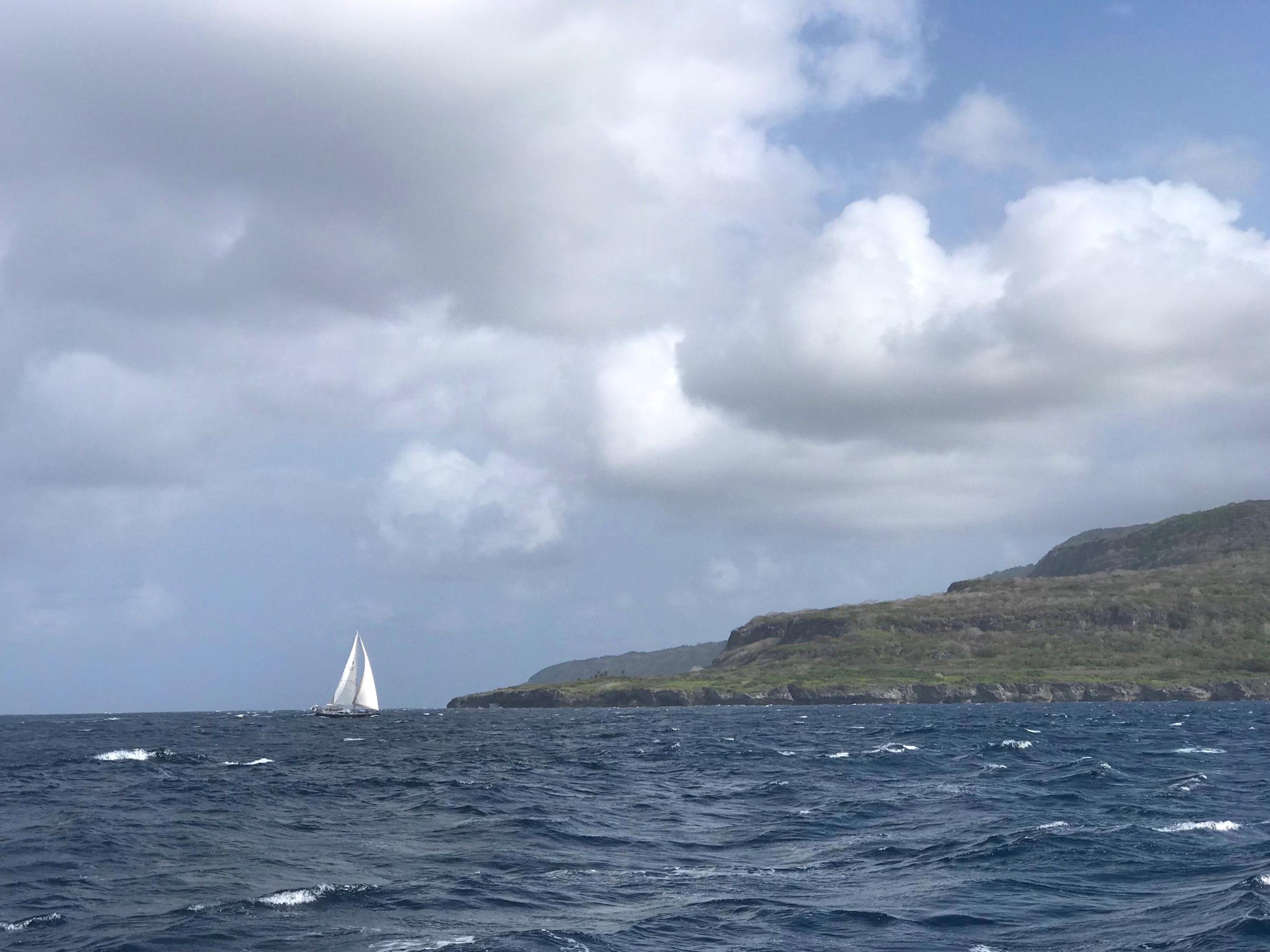 Aurora Polaris heading into Christmas Island