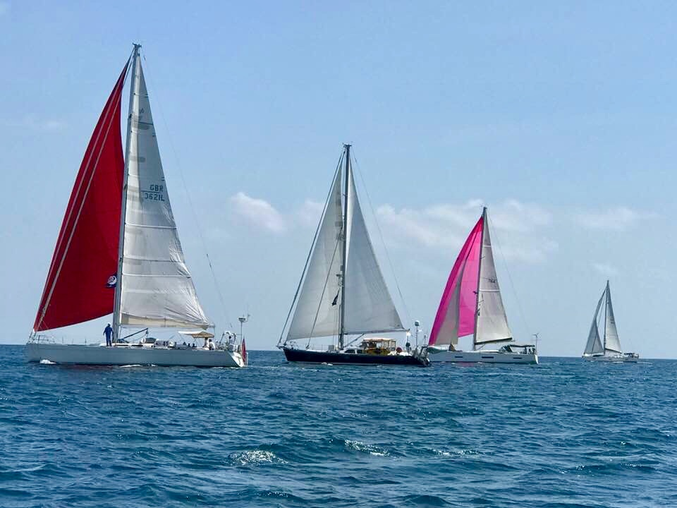 ARC boats set off from Gili Gede