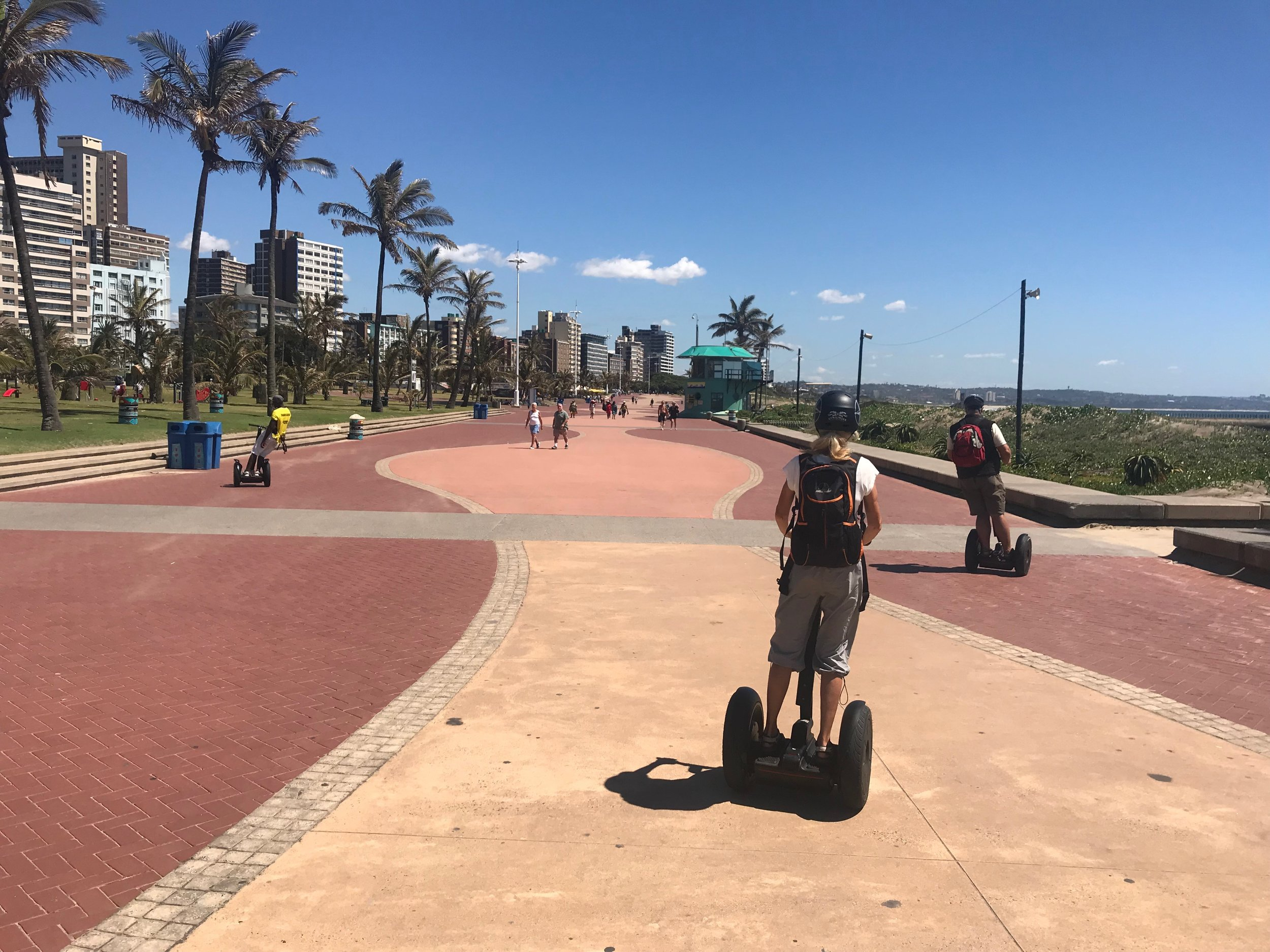 Segway on the Boardwalk