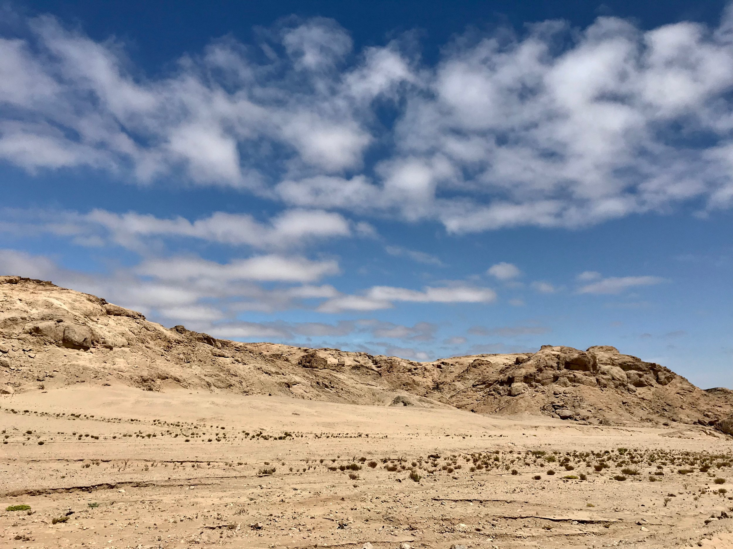 Sand and rock scapes everywhere