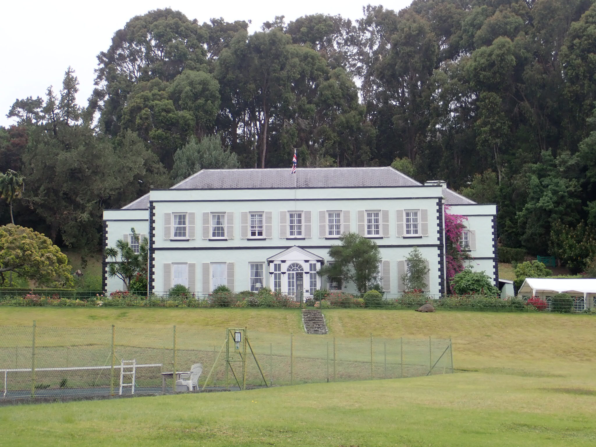 The Governor's residence