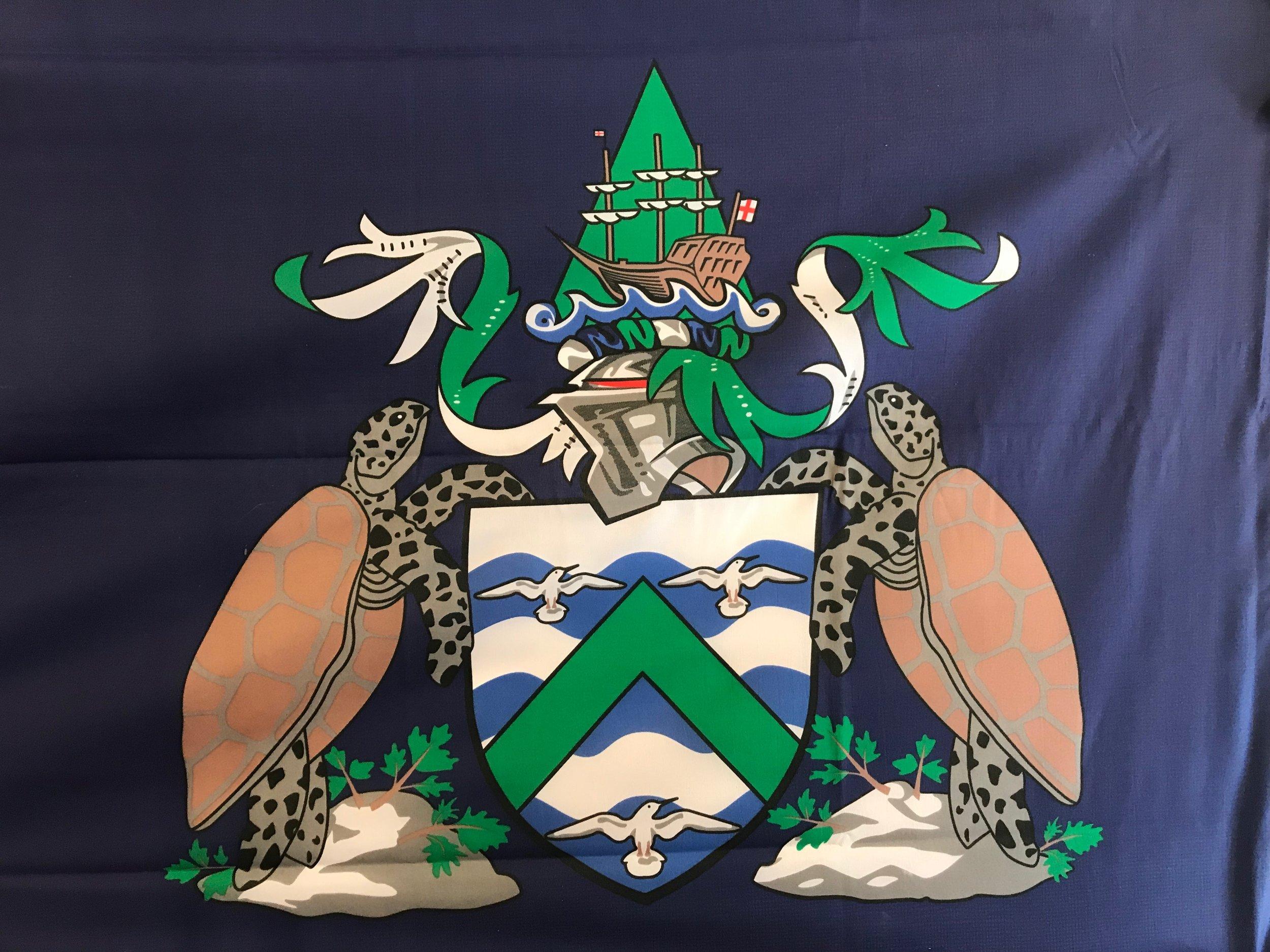 The local flag